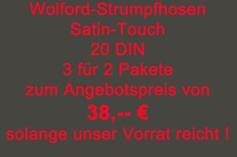 Wolford-Angebot